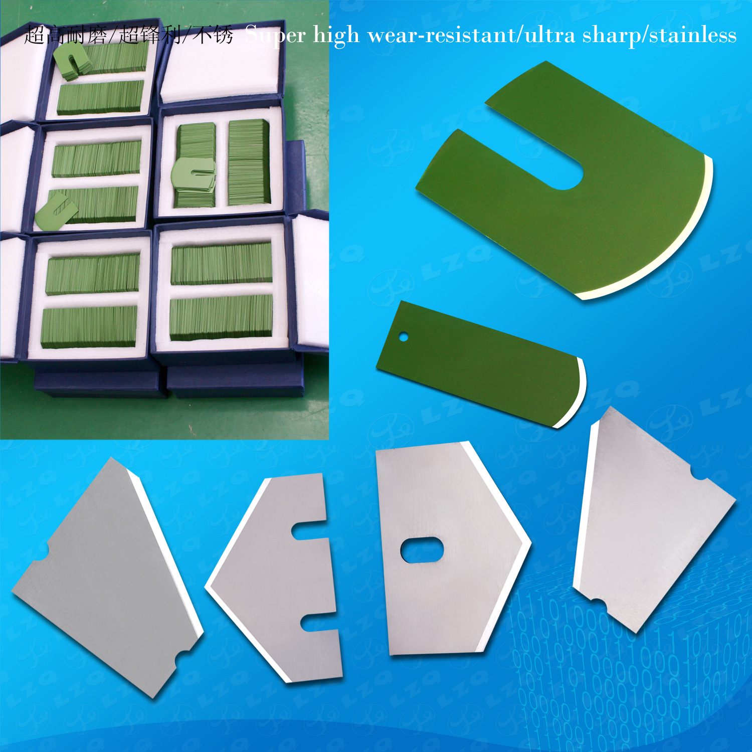 Industrial Sewing Machine Blades, Cutting Machine Blade, Computer Embroidery Machine Knives