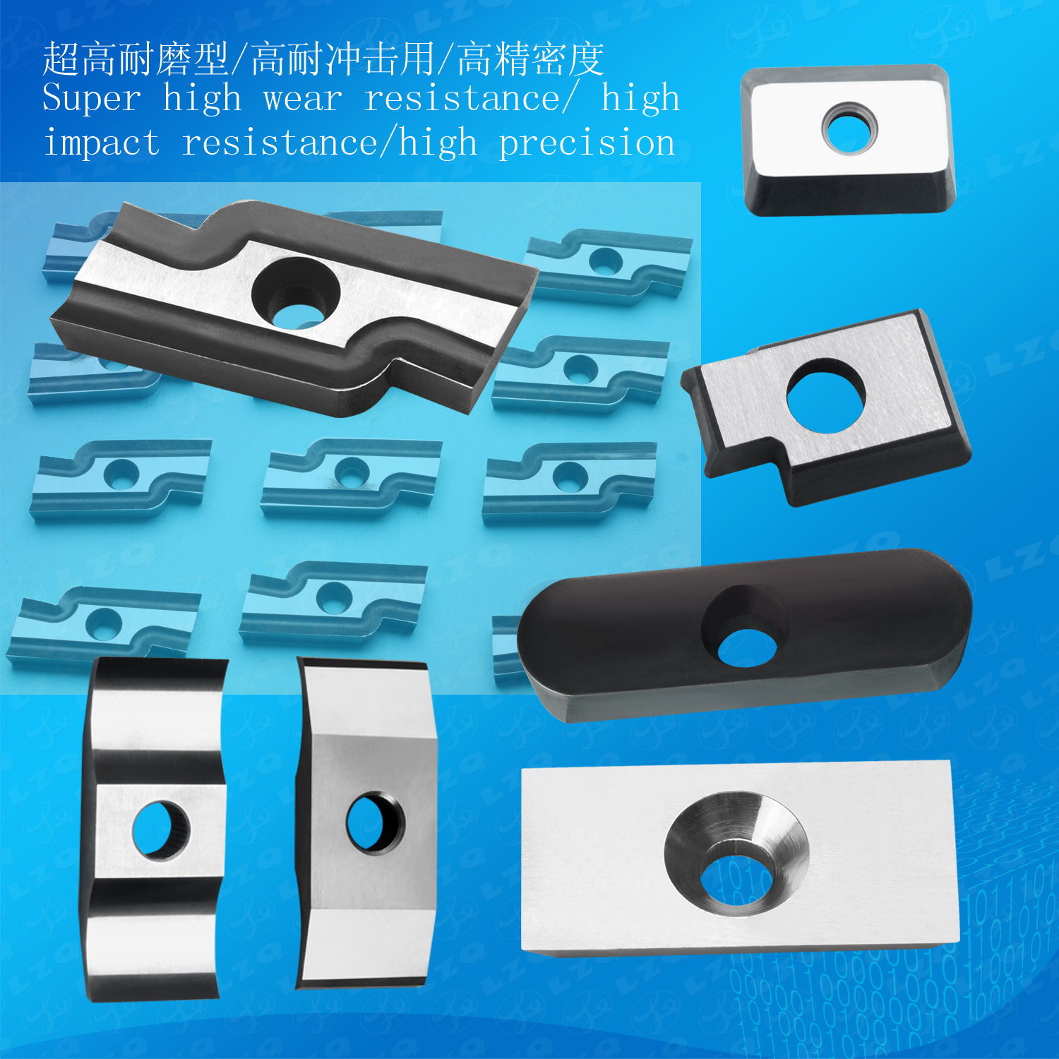 Stainless Steel Cutting Blade, Cobalt High Speed Steel Cutter, HSS Cutting Blade