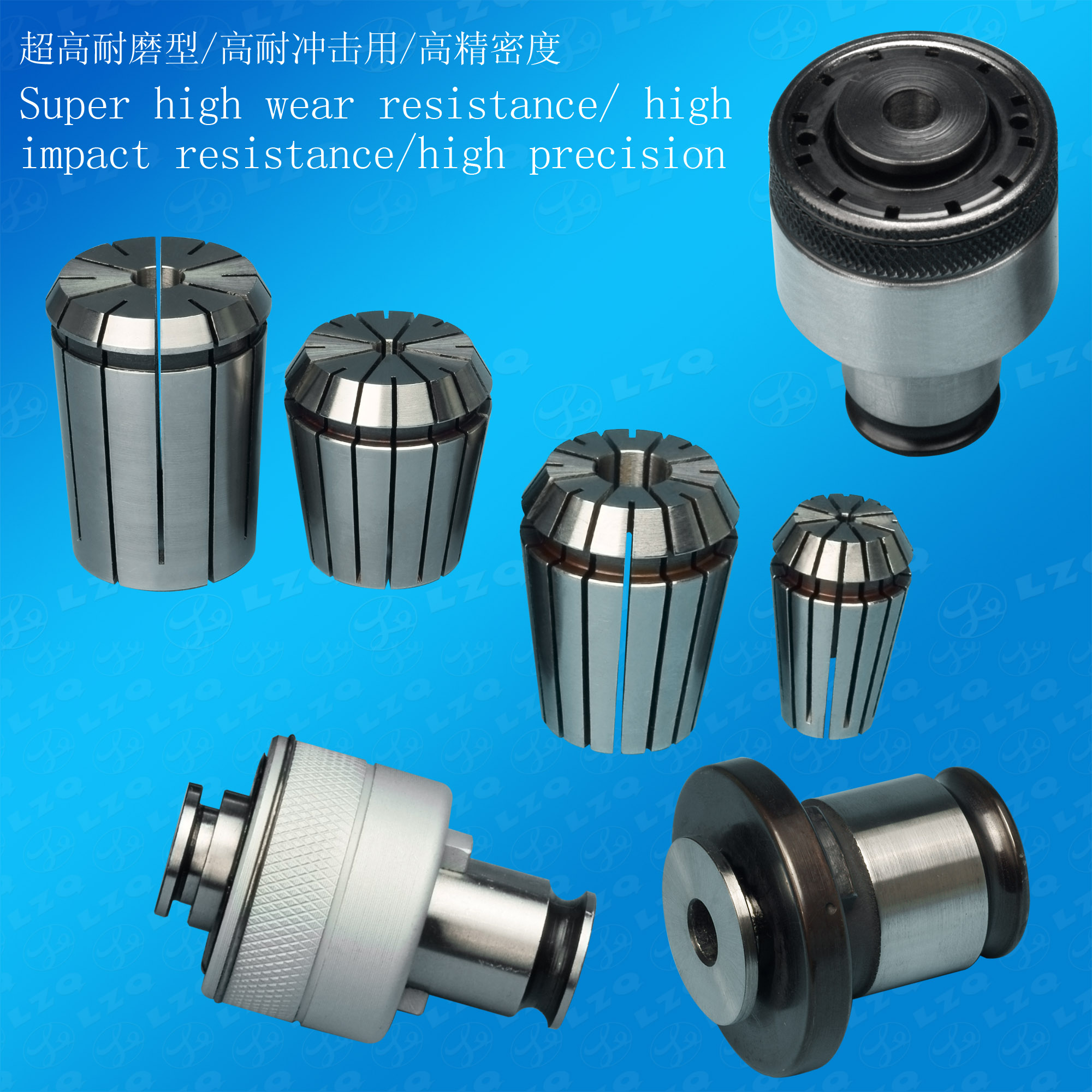 Collet, Chuck, Clamping, ISOK15A-1, HSS-D