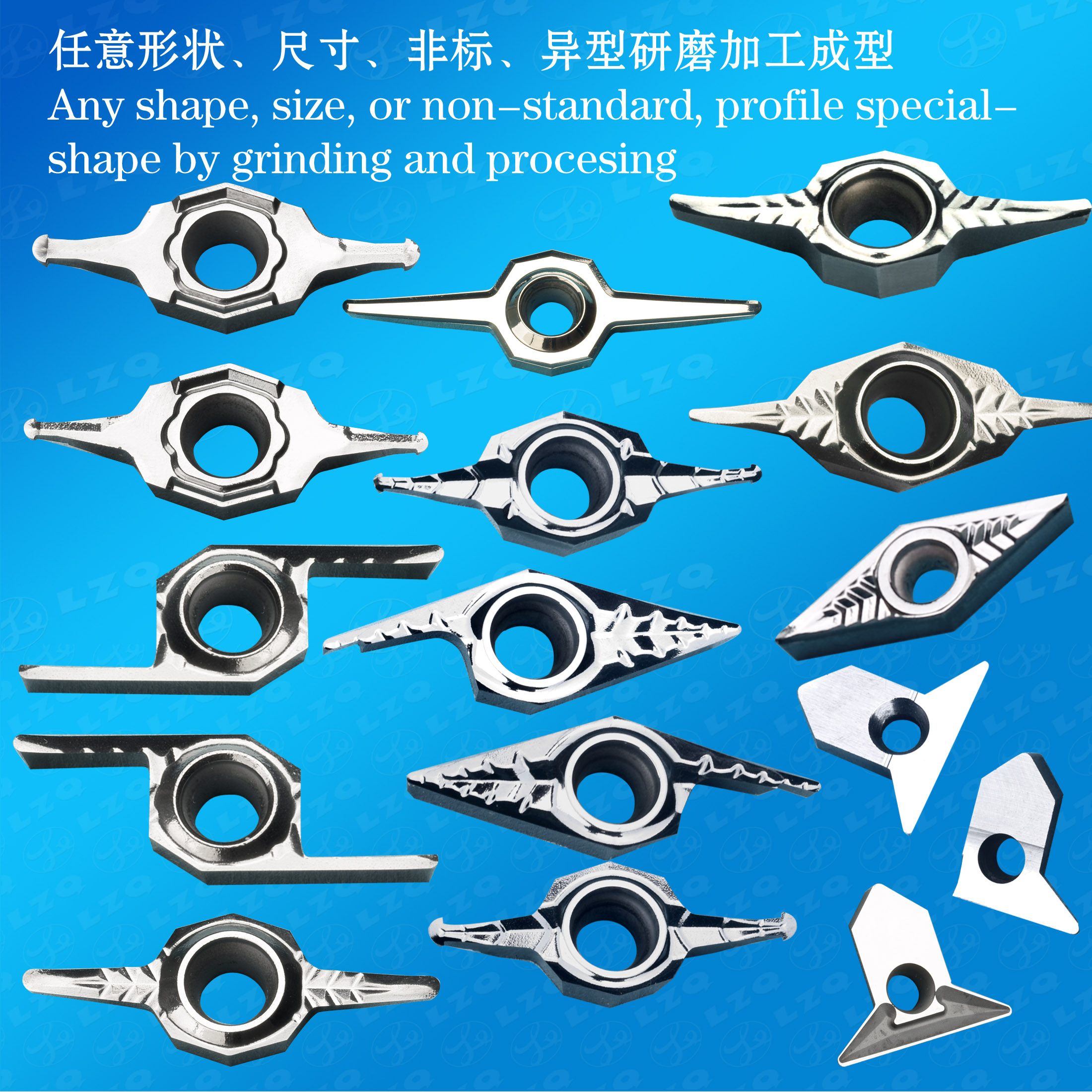 Seal Ring Blades, Rubber Blades, Rubber Turning Tool