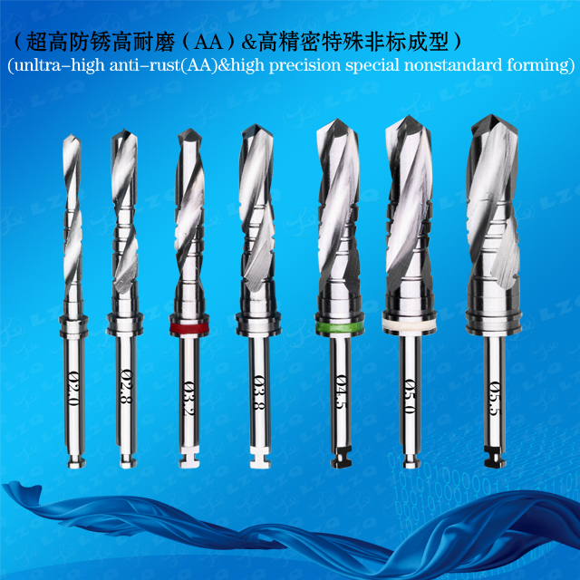 Drills For Arrow Press Implants Medical Straight Drill