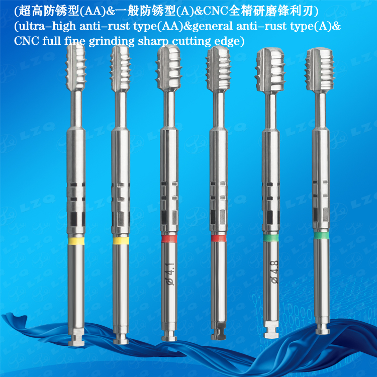 Tap (Big Thread) For Manual Medical Screw Drill