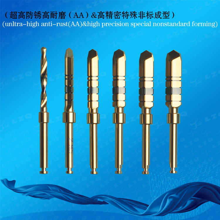 Dental Finishing Drill Without Drill Stop Dental Final Straight Drill Lindemann Drill Guide