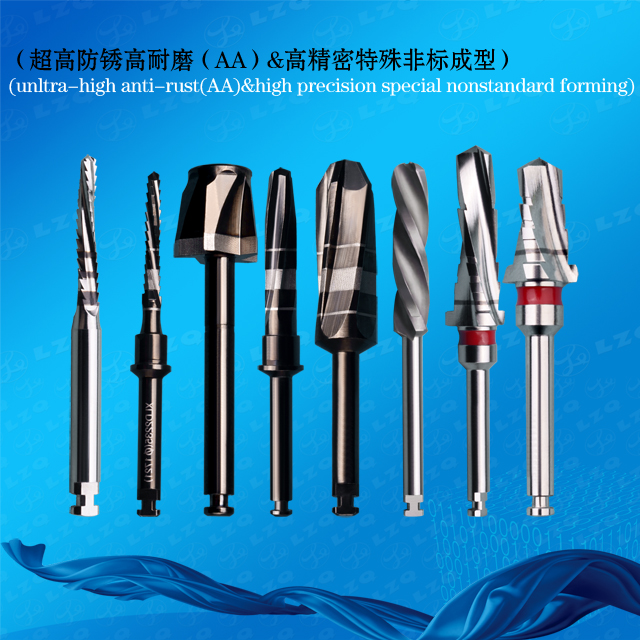 Drill Tapered Drill With Tip Tapered Dense Bone Drill Tapered