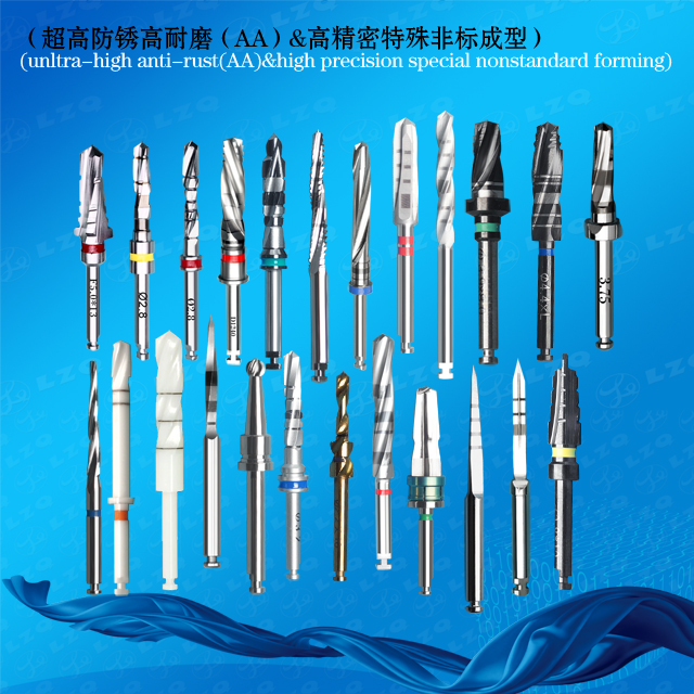 Implant Front Cutting Drill Cortical Bone Front Cutting Drill Implant Final Drill