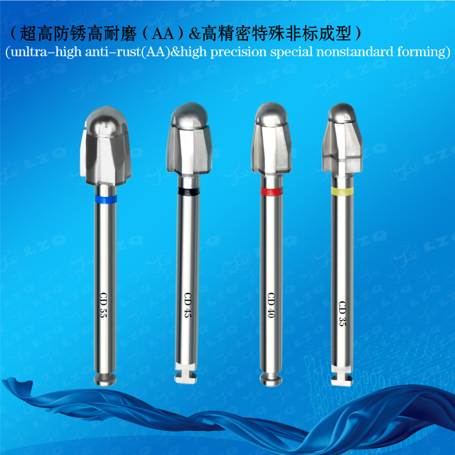 Initial Drill For Tapered Implant Medical Internally Irrigated Pilot Drill