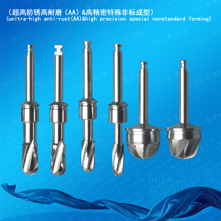 Lateral Approach Side Cutter Lateral Approach Core Drill Lateral Approach Sinus Drill