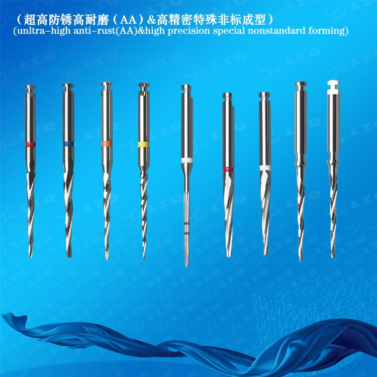 Mini Drill Bit For Friction-Grip Handpieces Mini Drill Bit For Latch-Type Handpieces
