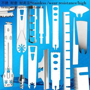 Sagittal Saw Blade With 15 Mm Depth Stop,Titanium Nitride Finish