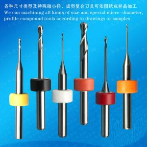Ball-Nose Milling Cutter ,Porcelain Tooth,Zircona Milling Cutter