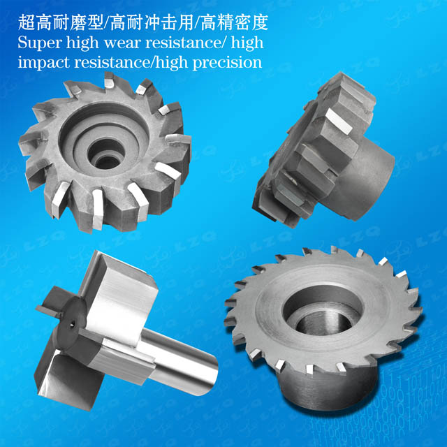 Carbide Straight Shank T Type Side And Face Milling Cutter,Hard Alloy Straight Shank T Type Side And