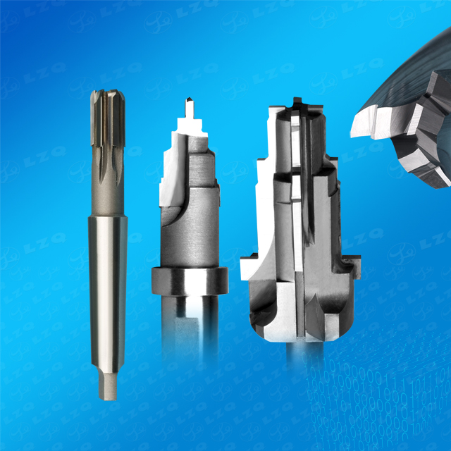 Carbide Drilling Reamer, Compound Reamer, 2-Flute Profile Cutter