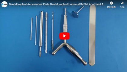 Dental Implant Accessories Parts Dental Implant Universal Kit Set Abutment Analog Veterinary Orthope
